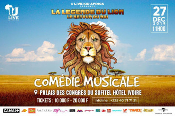 """Comédie Musicale """"La Légende du Lion"""""""