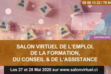 SALON VIRTUEL DE L'EMPLOI, DE LA FORMATION, DU CONSEIL & DE L'ASSISTANCE