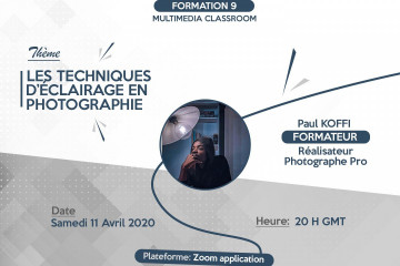 FORMATION PHOTOGRAPHIE