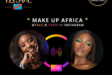 MAKEUP AFRICA in TALK & TASTE - KINSHASA