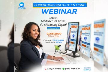 Webinar - Les Bases du Marketing Digital