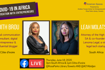 COVID-19 IN AFRICA : CONVERSATION WITH ENTREPRENEURS