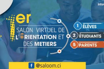 Salon virtuel de l'Orientation et des Métiers - Saloom