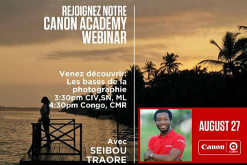 Canon Academy live sesssion