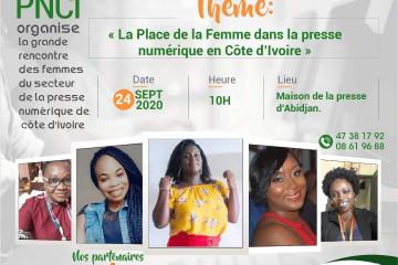 Grande rencontre des Femmes du secteur de la Presse numérique de Côte d'Ivoire
