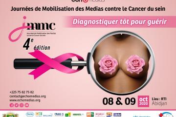 OCTOBRE ROSE- CAMPAGNE DE SENSIBILISATION AU CANCER DU SEIN