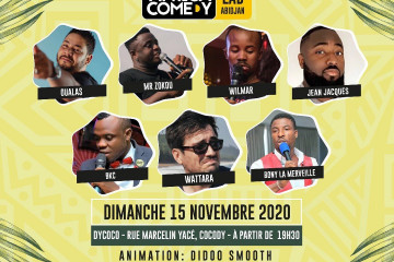 LAB.Abidjan • STAND UP by Africa Comedy
