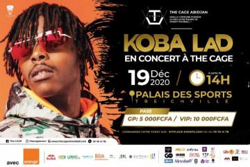 KOBA LAD CONCERT A LA FINALE DE CAGE 2020