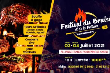 Festib : Festival du Braisé et de la Friture de Yamoussoukro 2021