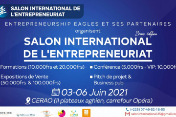 Salon International de l'Entreprenariat 2021