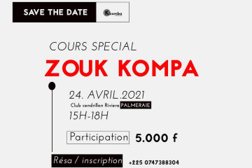 COURS SPECIAL ZOUK - KOMPA