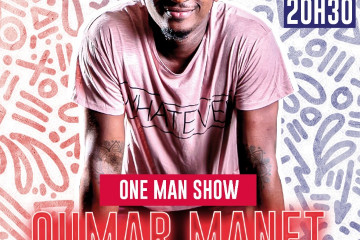 OUMAR MANET- ONE MAN SHOW