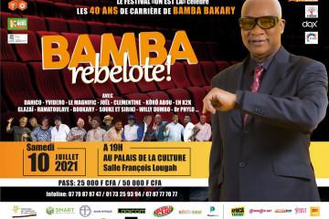 """FESTIVAL """"ON EST LA"""" : BAMBA BAKARY REBELOTE !"""