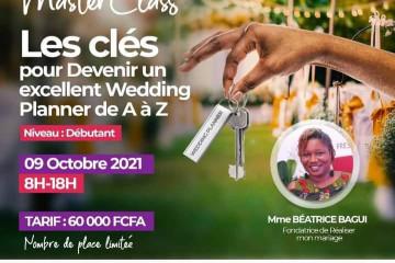 MASTERCLASS : Les Clés pour devenir un Excellent Wedding Planner de A à Z