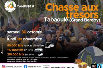 Camping 6 : Chasse aux trésors à Tabaoulé / Grand bereby