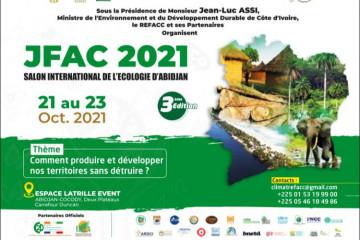 JFAC 2021 : SALON INTERNATIONAL DE L'ECOLOGIE D'ABIDJAN